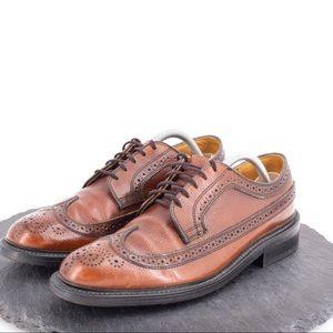 Dexter men's leather wingtips size 9.5C